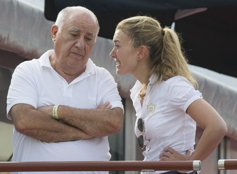 Самая богатая пара Амансио Ортега Гаона и Флора Перес