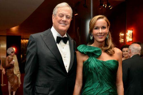 Самая богатая пара Дэвид и Джулия Кох