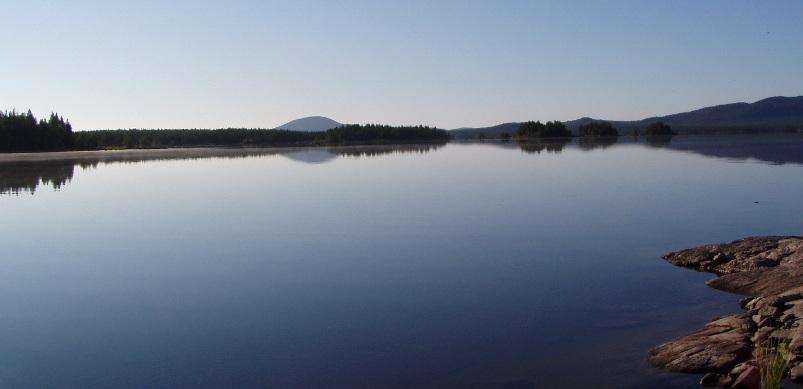 вид на иван гору с нот озера