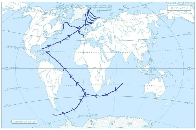 Зарождение океанических течений