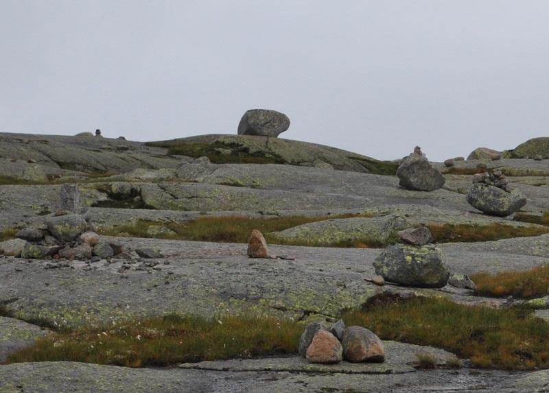 Горное плато на север от Гейрангер фьорда